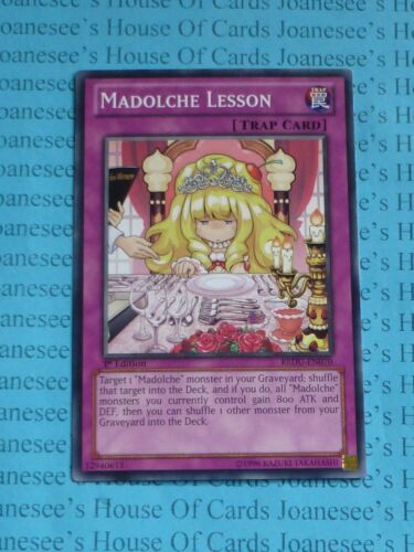 Madolche Lesson REDU-EN070 Common 3 x Yu-Gi-Oh Card 1st Edition New