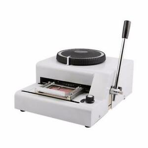 ADMS-72A / PVC CODE EMBOSSER ON SALE! Toronto (GTA) Preview