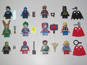 Lego-Minifigure-Mighty-Micros-DC-Comics-Super-Heroes-2018-Choose-Minifig-NEW