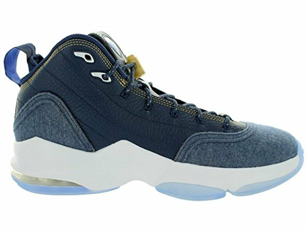 Nike Men's Pippen 6 Midnight Navy White Basketball shoes