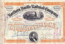 Northern Pacific Railroad Company  1889