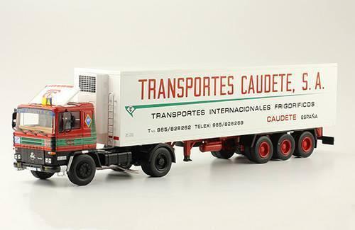 Pegaso 1231T de 1983 1 43 con remolque Frigor 65533;rough 65533;fiko de Transportes Caumete s.a.