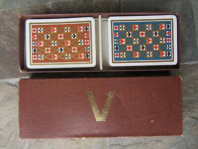 2019 Moda Anni '70 2 Mazzi Di Carte Da Gioco Modiano Pubblicitarie Valentino Playing Cards