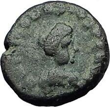 THEODOSIUS II 425AD Christian CROSS Genuine Authentic Ancient Roman Coin i59303