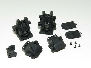 TKR6502 TEKNO EB410.2 BUGGY FRONT REAR DIFF GEARBOXES CASES BULKHEADS
