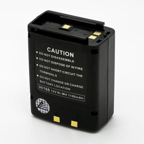 1100mAh CM-166 NI-MH Battery for ICOM IC-A3 IC-A22 IC-A3E IC-A22E Air Band Radio
