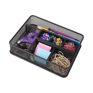Staples-Wire-Mesh-Deep-Drawer-Organizer-Black-515112