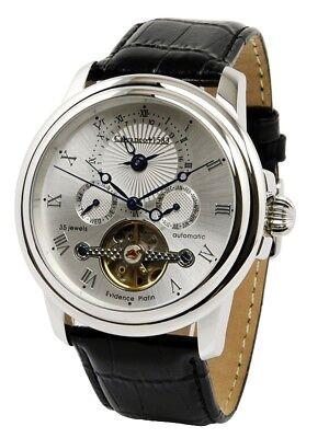 Armbanduhren Uhren & Schmuck ·calvaneo 1583 Evidence Platin Ice Dualtime Automatiktimer Schneidig 1.490,-€ Sk Mögl