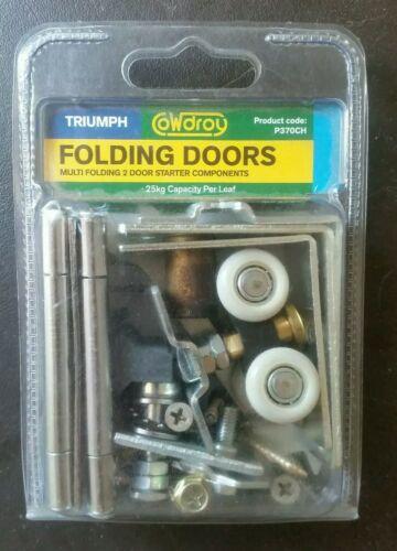 Cowdroy P370 TT Triumph Bi-folding Sliding Folding Door Carrier Overhead Rollers