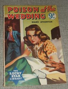 1955-First-edition-Poison-at-the-wedding-by-Diane-Atherton-English-Paperback