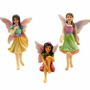Fairy-Garden-Accessories-3-Miniature-Ornament-Garden-Fairies-by-Pretmanns