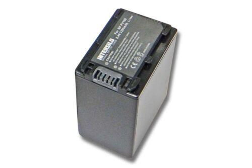 Original intensilo ® batería 3.300mah para Sony np-fv70 np-fv100 np-fv90