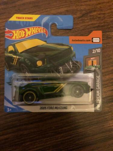 Hot Wheels 2020 2005 Ford Mustang grün   05//05-131//250 OVP Mattel NEU selten