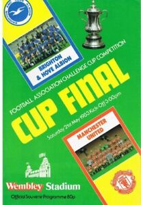 MANCHESTER-UNITED-v-BRIGHTON-1983-FA-CUP-FINAL-PROGRAMME-MINT