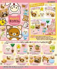 Re-Ment Rilakkuma Cat Cafe Complete Set