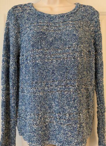 Rag& Bone Blue Knit Top Neiman Marcus