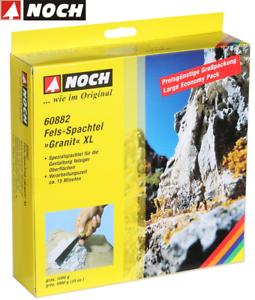 Noch-60882-Spatule-de-Roche-Gris-XL-034-Granite-034-1000-G-100-G-Neuf-Emballage