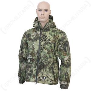 04af971dcb862 Image is loading Mandra-Woodland-Hardshell-Jacket-Army-Military-Camouflage- Coat-
