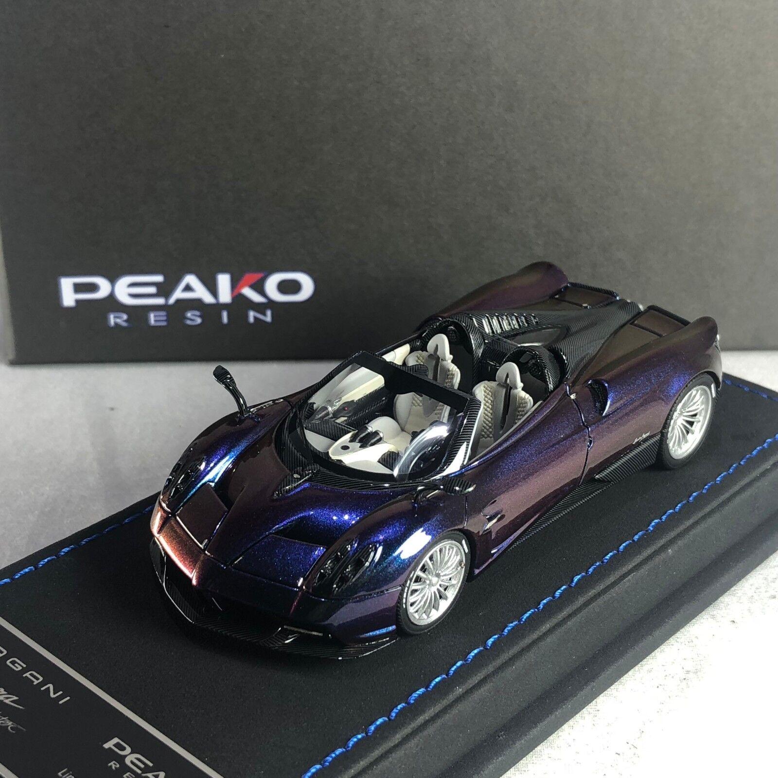 1 43 Peako Pagani Huayra Roadster gold Chameleon Ltd 30 pcs 31123