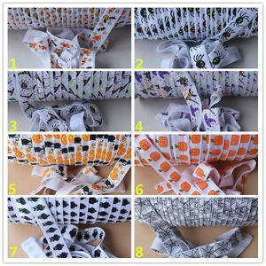 2m-of-Soft-Fold-Over-Elastic-15mm-HALLOWEEN-Headband-Tutu-Trim-Clothing-FOE