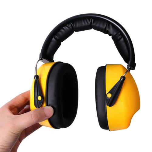 Yellow Anti noise Soft Earmuffs Headset Hearing Protection Ear Defender