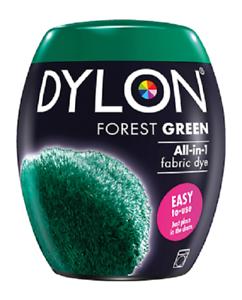 Dylon Verde Foresta 09 macchina in tessuto Dye BACCELLI permanente Tessile Stoffa coloranti 350g