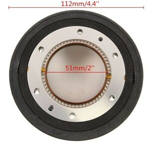 Audio Titan Stimme Spule Diaphragm 8Ω Ersatz Für 22XT RX22 22A