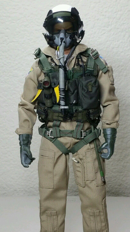 BBI/ELITE Force 1/6 Freedom Force F-14 Tomcat Pilot   Top Hatters