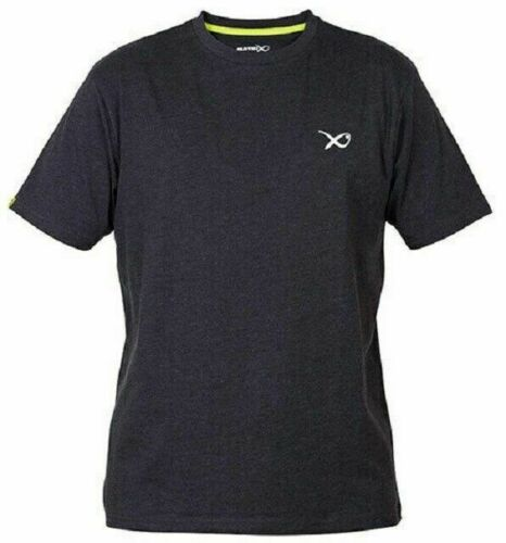 Matrix Minimal Black T-Shirt schwarz verschiedene Größen