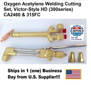 315FC HD Oxygen/Acetylene Cutting Torch Tool Three Pieces