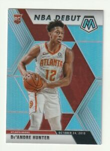 2019-20-Panini-Mosaic-Prizm-Silver-De-039-Andre-Hunter-Rookie-RC-NBA-Debut-266