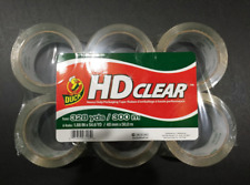 Duck Hd Clear Heavy Duty Packing Tape Refill 6 Pack 188 Inch X 546 Yard