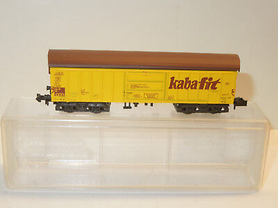 "Toys & Hobbies Freight Cars Aspiring Minitrix Spur N 3568 Schwenkdach-güterwagen ""kabafit"""