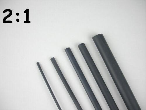 "3//16/"",1//4/"",3//8/"",1//2/"",5//8/"",3//4/"",1/"" Heat Shrink Tubing 28FT"