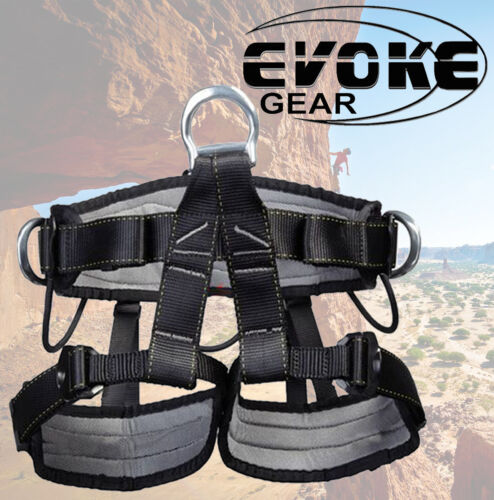 ProTree Fall Protection Rock Climbing Rappelling Harness