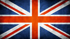 """UK Flag Union Jack Britain CANVAS PRINT 24""""X16"""" Abstract poster #2"""