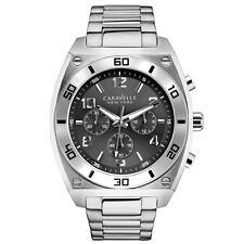 e8d131fd2db Caravelle Bulova New York 43A120 Mens Analog Display Japanese Quartz Watch