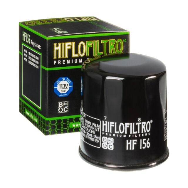 HIFLO HF156 MOTO Recambio Premium Filtro de aceite del motor