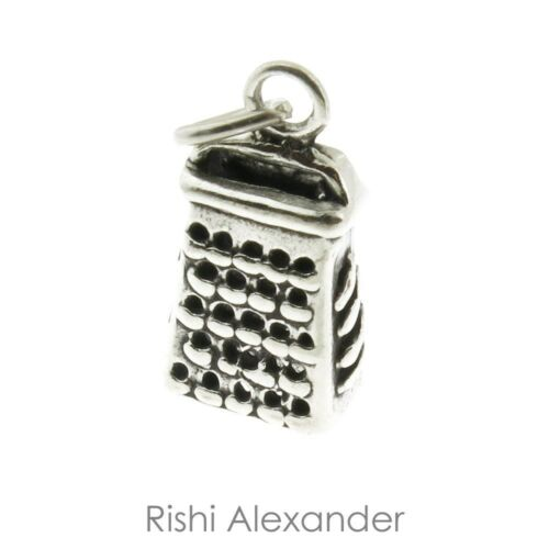 925 Sterling Silver Cheese Grater Charm American Made