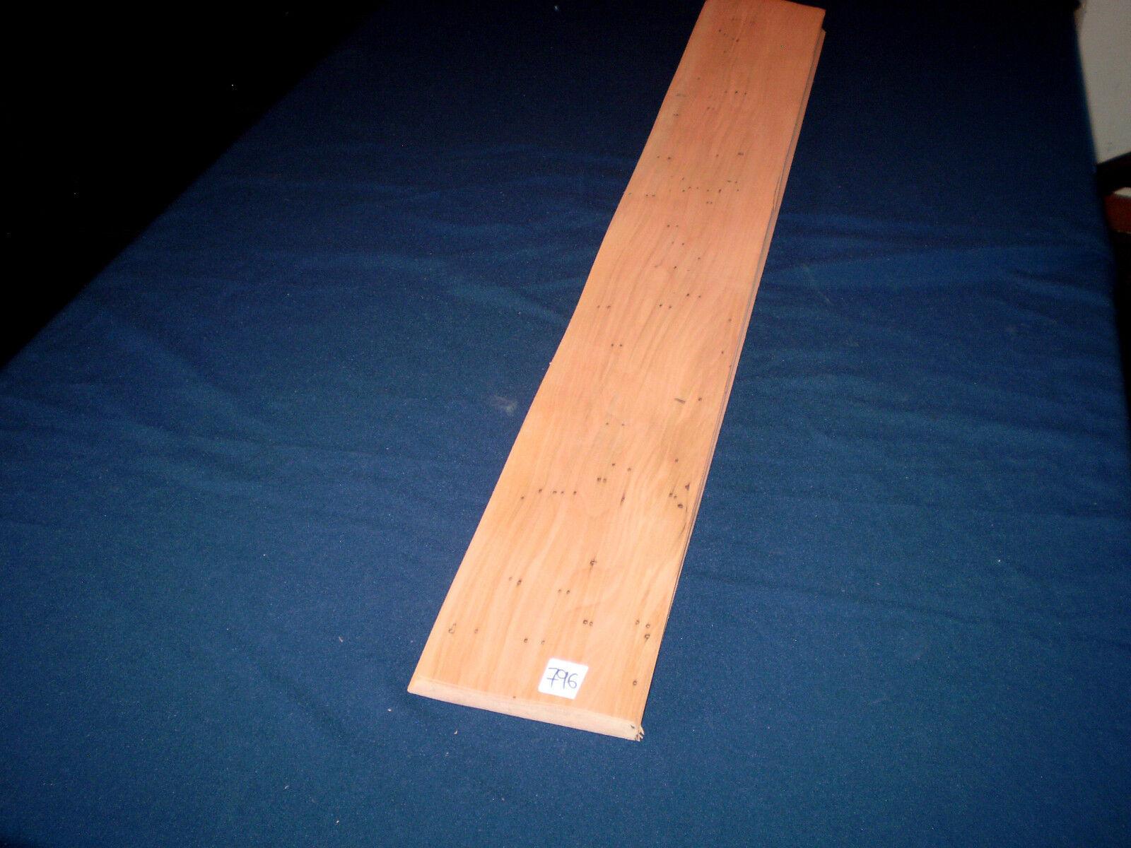 Elsbeere Amorti placage placage placage avec trous de ver Vintage 1 paquet 3,5 mâ² Nº 796 e863fe
