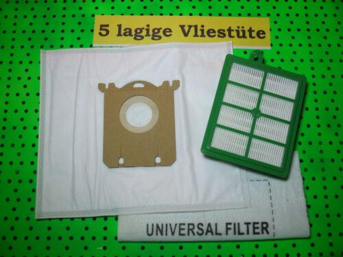 VX7 VX6 10-40 Staubsaugerbeutel 1 Hepafilter geeignet für AEG VX8