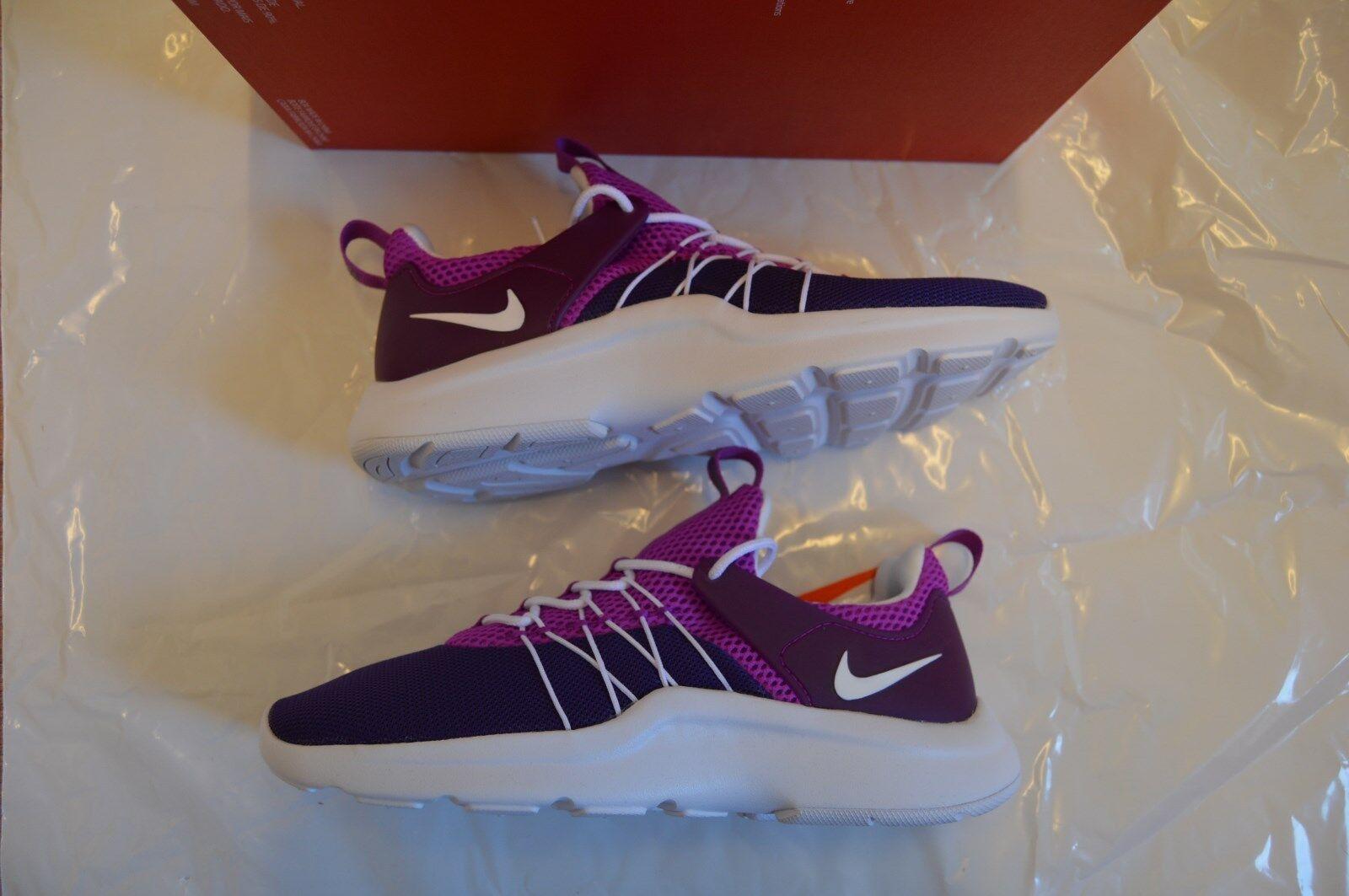 bnib  femmes Nike Darwin purple/ blanc  bnib /violet trainers Taille4.5 gris 23af73