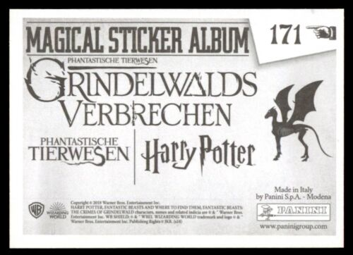 : The Crimes of Grindelwald No Harry Potter 171 Panini Fantastic Beasts