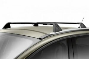 peugeot 3008 lockable steel roof bars pair new genuine 9616x2 ebay. Black Bedroom Furniture Sets. Home Design Ideas