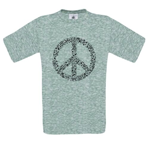 mashup t SHIRT Rhyme In Peace sign  funny comical  DTG