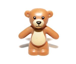 NEW LEGO Animal Land Holiday City Bear Medium Dark Flesh Teddy