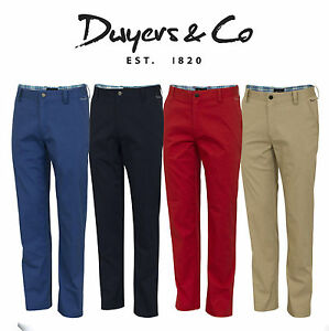 Dwyers-amp-Co-2018-Designer-Titanium-Chino-Flat-Front-Mens-Funky-Golf-Trousers