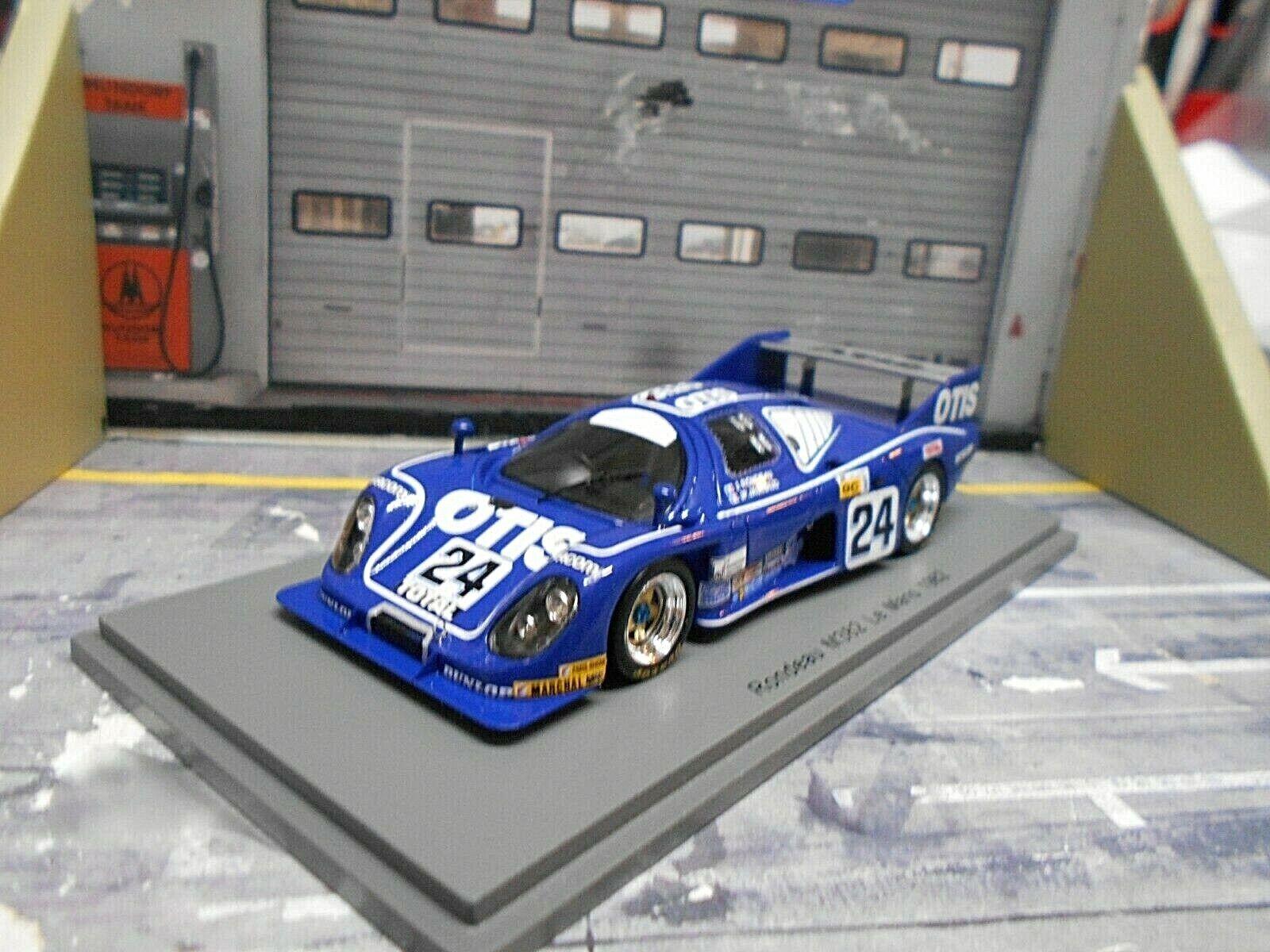 Rondeau Ford m382 Le Mans 1982   24 Rondeau Jaussaud Otis Spark Resin 1 43  70% de réduction