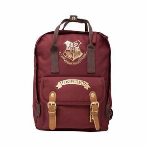 Harry Potter Hogwarts Logo Shoulder Backpack School Laptop Book Bag
