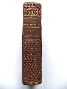 SUPERBE-BREVIAIRE-MONTALBANAIS-BREVIARIUM-PLEIN-MAROQUIN-DENTELLE-1770